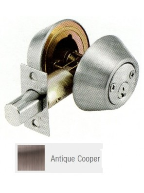 GERE G3100 Std.Duty Double Cyl.Deadbolt A.Copper G3102-M11