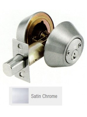 GERE G3100 Std.Duty Double Cyl.Deadbolt S.Chrome G3102-M26D