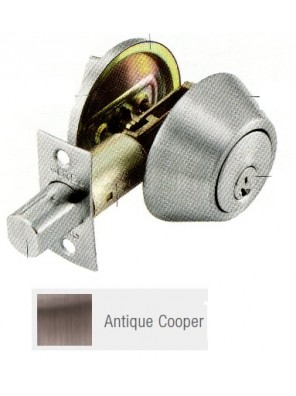 GERE G3100 Std.Duty Single Cyl.Deadbolt A.Copper G3101-M11