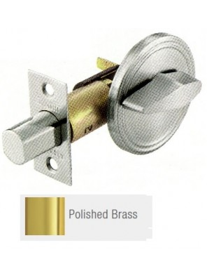 GERE G3100 Std.Duty Thumbturn Deadbolt P.Brass G3105-M3