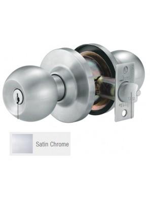 GERE H/D Cylindrical Lock Ent. Satin Chrome G9501-M26D