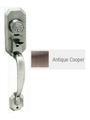 GERE Tubular Entrance Door Handle Set A.Copper G28091-M11
