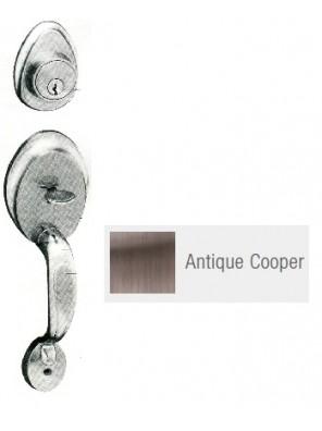 GERE Tubular Entrance Handle Set (Double)A.Copper G28051-M11