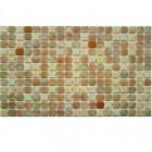 GNG Ezarri Glass Mosaic Tile Cocktail-Bellini;  (13Sht/CTN)