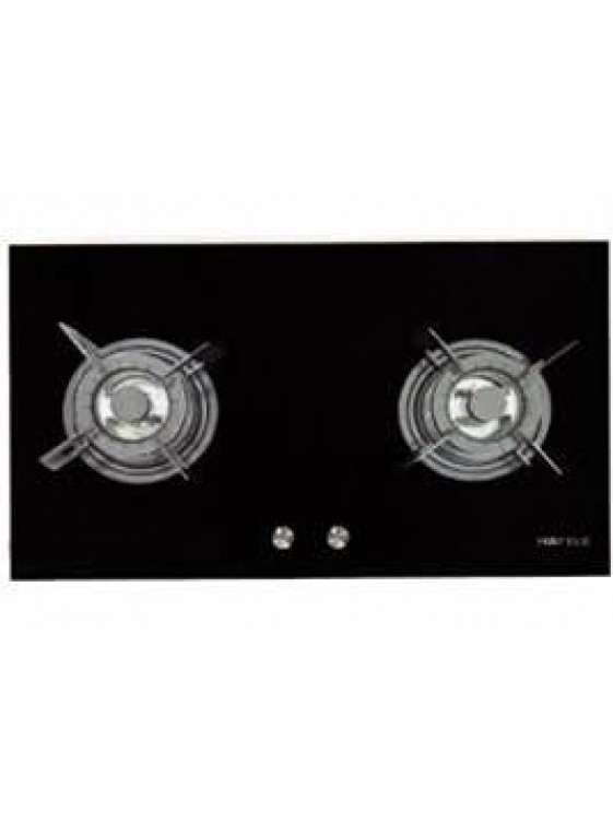 HAFELE-HC-G802A-533.02.807 2 GAS BURNERS HOB; SIZE: 800W X 460D X 68H MM
