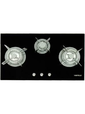 HAFELE-HC-G863A-533.02.829 3 GAS BURNERS HOB; SIZE: 860W X 460D X 68H MM