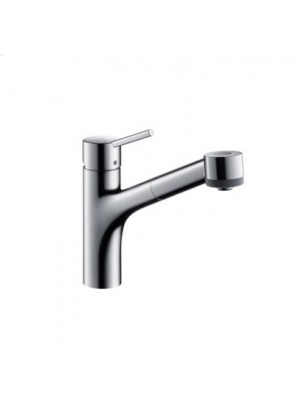 HANSGROHE K. Mixer W Pull-Out Spray; 32841000/32841009