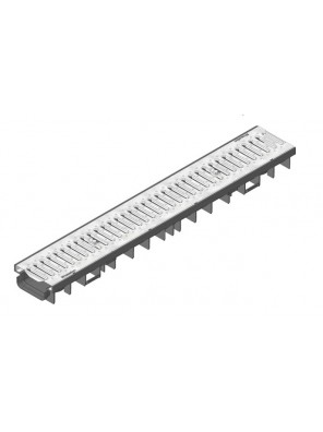HAURATON  Recyfix Pro100 Channel Type 75 c/w Slotted Grating