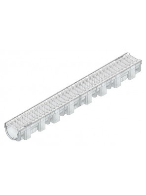 HAURATON  Top X Channel c/w Slotted Cover Grating  1m-44332