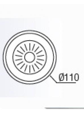 HEAD 110mm Dia S/Steel Waste HDACC 706