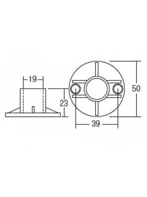 HEAD ABS Chrome Fitting Holder HDACC-3007