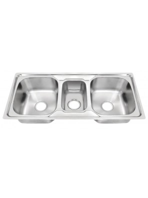 HEAD S/S Kitchen Sink With 100mm Waste HDKS-10550A