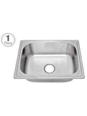 HEAD S/S Kitchen Sink With 100mm waste HDKS-6045F