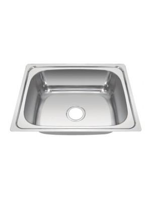 HEAD S/S Kitchen Sink With 100mm Waste HDKS-6048
