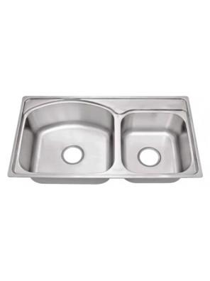 HEAD S/S Kitchen Sink With 100mm Waste HDKS-8044