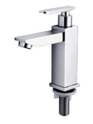 HEAD Zinc Die Cast Chrome Basin Pillar Tap HDFC-5044