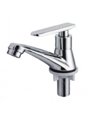 HEAD Zinc Die Cast Chrome Basin Pillar Tap HDFC-5104