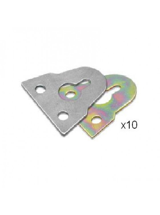 "1"" (25mm) M.S Rainbow Plated Hanger-Rb (Han200)-10pcs/pkt"