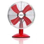 "HOUM 12"" Metal Desk Fan (4 Metal Blades,3speed) R12 RED"