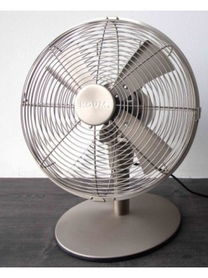 "HOUM 12"" Metal Table Fan (4 Metal Blades, 3Speed) M12D"