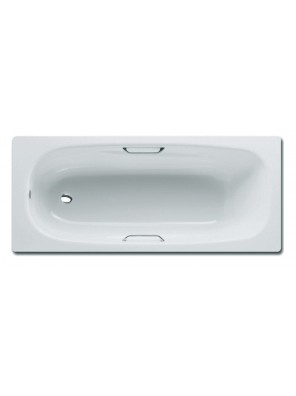 JOHNSON SUISSE Cres Anti Slip Long Bath Tub WBSS600001WW (White)