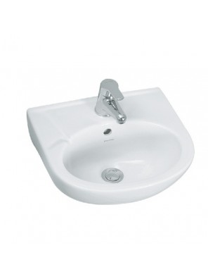 J.SUISSE BOSTON 400mm Wall Hung Basin Set C/W Fixing (White)