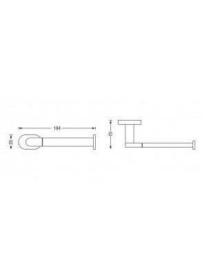 J.SUISSE  Forli- Spare Paper Holder WBBA100153CP