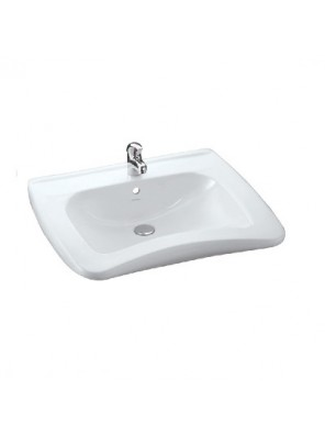 JOHNSON SUISSE Handicap Basin Set C/W Fixing (White) WBSAHC000WW