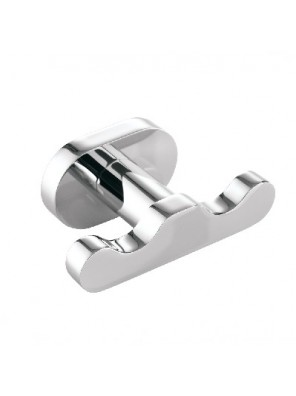 JOHNSON SUISSE Forli Double Robe Hook WBBA100156CP