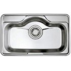 HANGAON LDS 850-Premium Collection S/Steel Single Bowl Sink