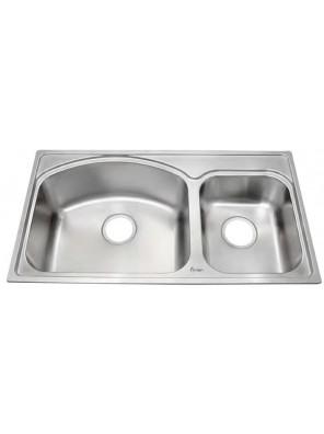 AIMER S/S 1-1/2 Bowl Sink SUS 304-AMKS 8245