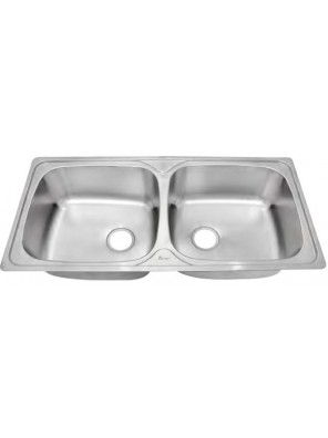 AIMER S/S One Piece Double Bowl Sink SUS 304 AMKS 1060