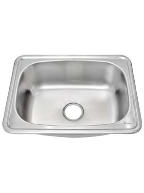 AIMER S/S One Piece Single Bowl Sink SUS 304 AMKS 6347