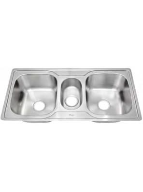 AIMER S/S Triple Bowl Sink SUS 304 AMKS1020