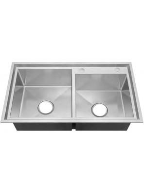 AIMER S/S Undermount 1-1/2 Bowl Sink SUS 304 AMKS 8246