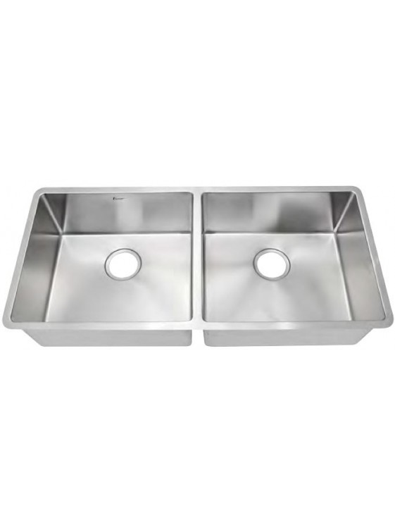 AIMER S/S Undermount Double Bowl Sink SUS 304 AMB 9744