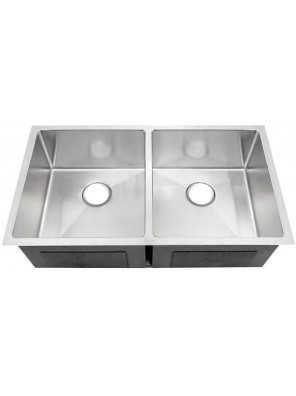 AIMER S/S Undermount Double Bowl Sink SUS 304 AMKS 8548