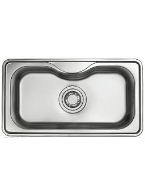 HANGAON HS 870-Jumbo Collection S/Steel Single Bowl Sink