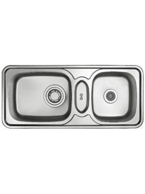HANGAON ISB 1100-Classic Collection S/Steel Double Bowl Sink