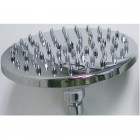 """MECO - 8"""" Chrome Brass Shower Head Without Arm; HN2802-8"""""""