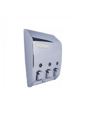 Chrome W Chrome Button-Dispenser III ; 71344-THE DISPENSER