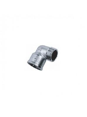 "MECO 1/2"" M-F Brass Chrome Elbow; EMF312C"