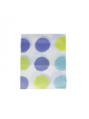 MECO 180 X 200CM Shower Curtain-Polyester (Dot Design); MSC5
