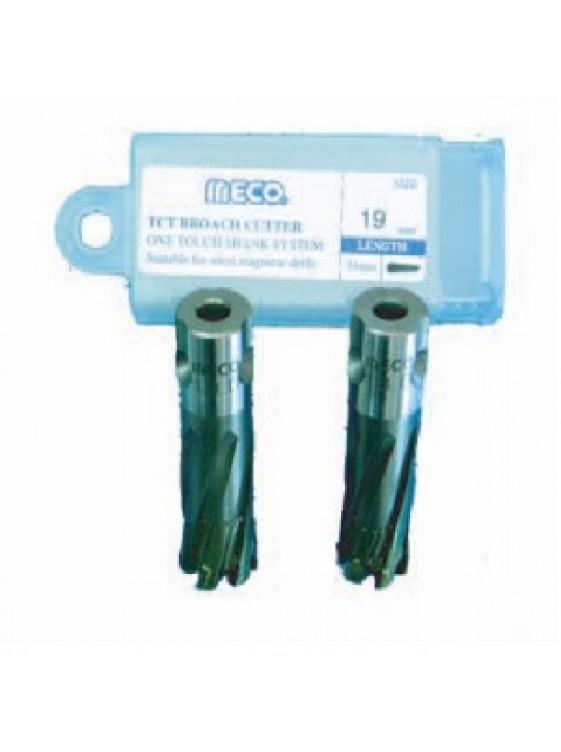 MECO 18MM X 35MM(L) Short Reach Tct Broach Cutter, ME-350