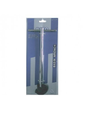 """MECO 19MM (3/4"""") Basin Wrench With Forged Jaws & Self Adjust"""