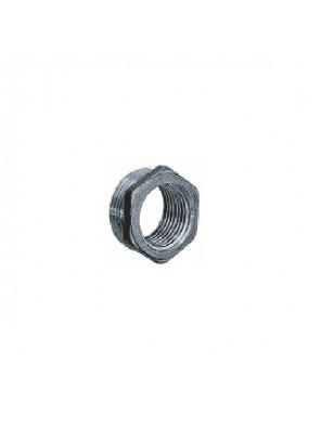 """MECO 3/4"""" - 1/2"""" M-F Brass Chrome Hexagon Reducer; R342C"""