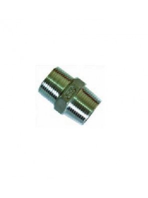 "MECO 3/4"" 304 S/Steel Hex Nipple-Bsp Thread NS34"