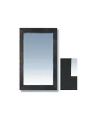 "MECO 90 X 70CM (36"" X 28"") Bathroom Mirror W/Frame; MBM8530"
