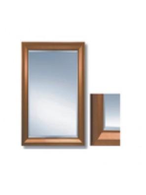 "MECO 90 X 70CM (36"" X 28"") Bathroom Mirror W/Frame; MBM8551"