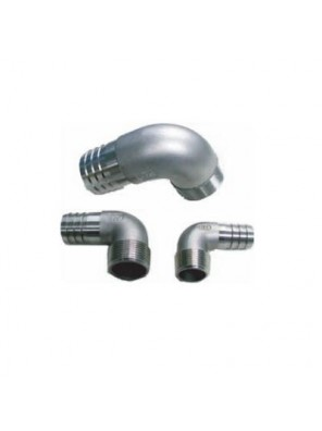 """MECO Elbow Hose Tail 3/4""""BSP X 3/4"""" I.D Hose-Bsp Thread ET34"""